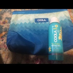 Other - Coola sunscreen spray and bag